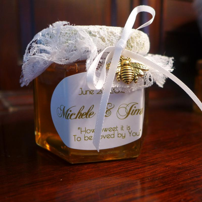 Amberfield Honey Farm Honey Wedding Favors